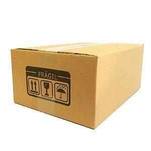 25 Caixas de Papelão P°3 26x19x12 cm