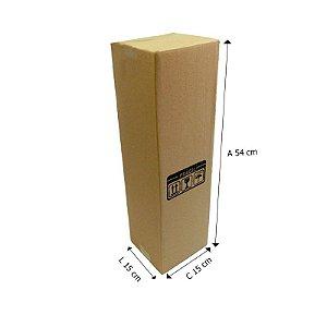 Caixa de Papelão Tubo E°3 15x15x54 cm - 25 unidades