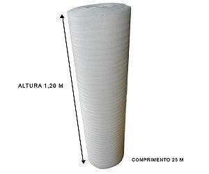 Manta de Polietileno Expandido 1,20x25 mts