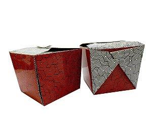 CAIXA YAKISOBA GG - BOX ORIENTAL FOOD 10x10x10 cm