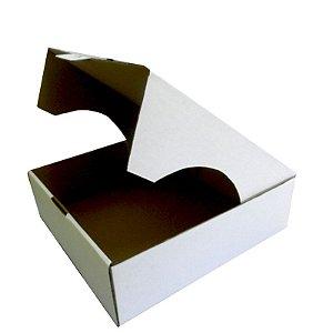 25 Caixas De Papelão Branca Para Tortas E Bolos P 29,5x27,5x9,5 cm