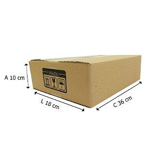25 Caixas de Papelão Dº9 36x18x10 cm