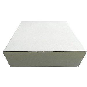 25 Caixas De Papelão Branca Para Tortas E Bolos M  33x32x12,5 cm