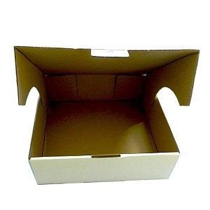 10 Caixas De Papelão Branca Para Tortas E Bolos M  33x32x11,5cm