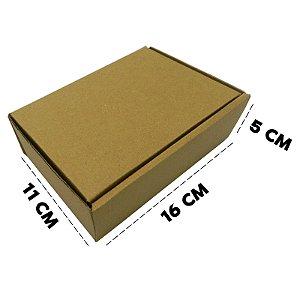 50 Caixas de Papelão D12 Sedex - 16x11x5 cm