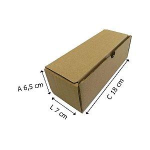 25 Caixas Papelão Bº1 Sedex - C 18 X L 7 X A 6,5 cm
