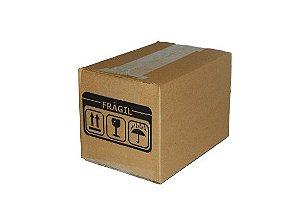50 Caixas Papelão A4 20 X 14,5 X 11 cm