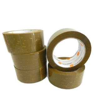 Fita Adesiva 45x45 Marrom - 1 KIT (5 UNIDADES)