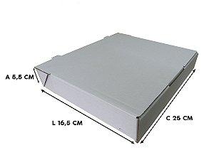 Caixa Para Esfiha Conjugada 25x16,5x5,5 cm - 20 unidades