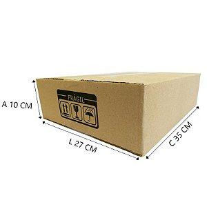 25 Caixas Papelão D º19 - C 35 X L  27 X A 10 cm