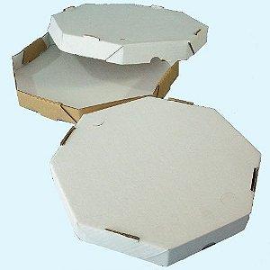 25 Caixas de Papelão Para Pizza 40x40x4,5 Cm (tampa E Fundo)
