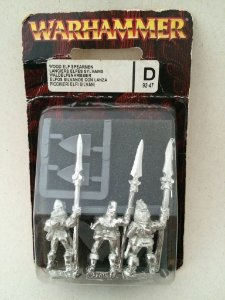 Wood Elf Spearmen