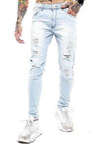 Calça New Rasgada Jeans Clara