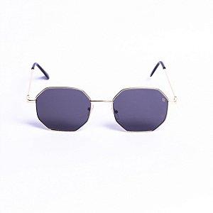 Óculos Rich Summer Tokyo Preto com Dourado