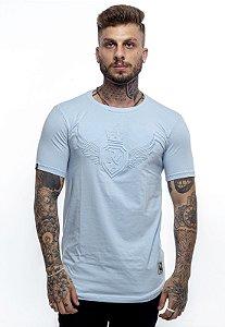 Camiseta Long Rich Summer Asa Azul