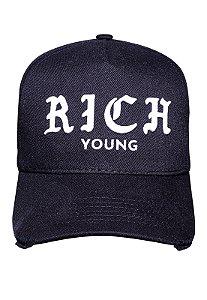 Boné Rich Summer Dad Hat in SP Preto