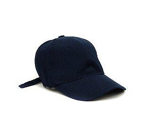 097fb68d5fe3e Boné aba curva azul marinho liso