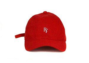Boné Dad Hat Aba Curva Vermelho