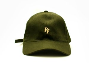 Boné Dad Hat Aba Curva Pingente Verde