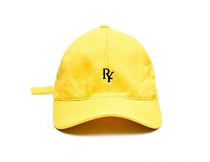 Boné Dad Hat Aba Curva Amarelo