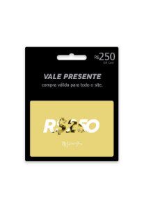 Vale R$250 + Frete Grátis