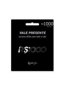 Vale R$1000 + Frete Grátis