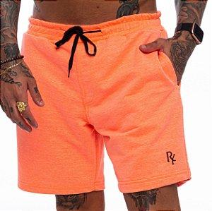 Shorts Superstar Moletinho Masculino Laranja