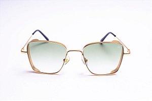 Óculos Superstar Dourado Gold