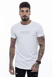 Camiseta Long Classic Pedraria Branca