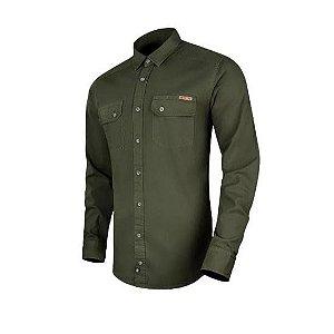 Camisa de Sarja Endurance Verde Oliva ( INVICTUS)