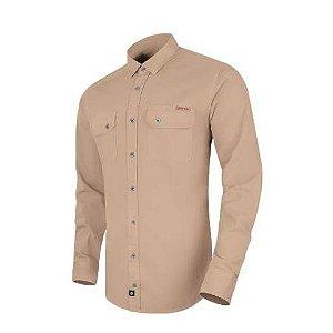 Camisa de Sarja Endurance Caqui ( INVICTUS)