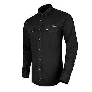 Camisa de Sarja Endurance Preta ( INVICTUS)