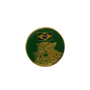 Brevê (Distintivo) de Metal Estágio Guerra na Selva CIGS