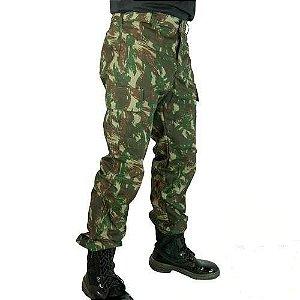 Calça Camuflada Alto Padrão Convencional (Masculina)