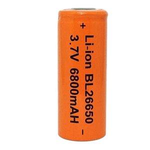 Bateria Recarregável para Lanternas Modelo 26650