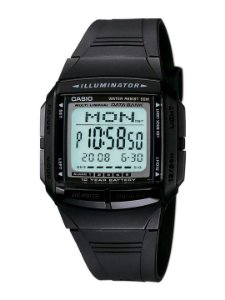 Relógio Casio Masculino Data Bank DB-36-1AVDF