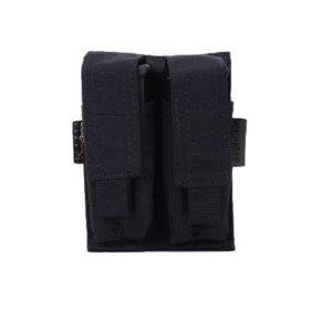 Porta Carregador de Pistola Duplo Cordura 1000 Molle (Modular)