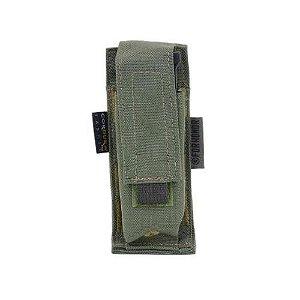 Porta Carregador de Pistola Simples Cordura 1000 Molle (Modular)