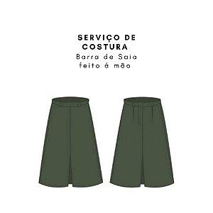 Serviços de Costura Barra de Saia (FEITO À MÃO)