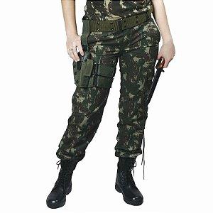 Calça Camuflada Alto Padrão Convencional (Feminina)