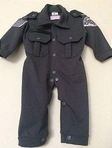 Macacão Infantil Polícia Militar SP (Malha Piquet)