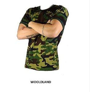 Camiseta Camuflada Wooldland