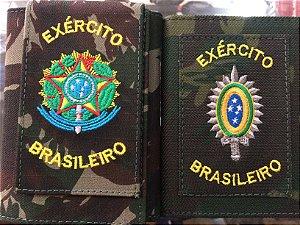 Carteira Camuflada Exército Brasileiro (Bordada)
