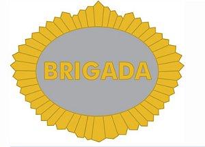 Distintivo (Brevê) Metal Sargento Brigada