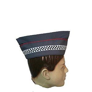 Casquete Bibico Polícia Militar SP Infantil Sub/Sgt