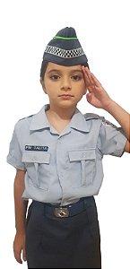 Farda Infantil Feminina Polícia Militar SP