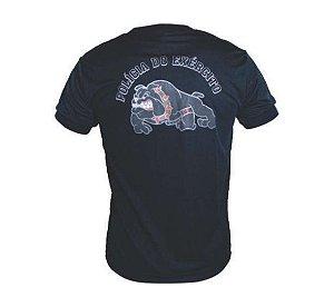Camiseta Estampada Polícia do EB Canil (Preta)