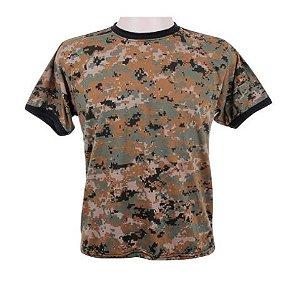 Camiseta Camuflada Digital Delta Desert