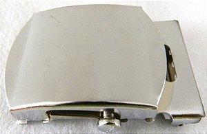 Fivela de Metal Prateada (Rolete)