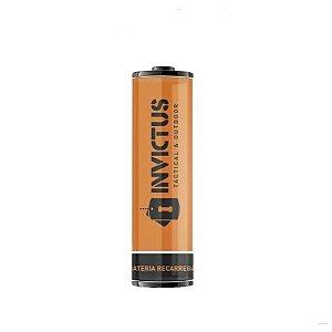 Bateria Invictus Recarregável 14500 (Kit 2 Unidaddes)